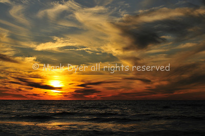 Sunset at Naples, Florida