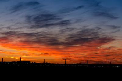 Sunset at O-PI-2