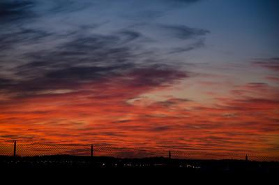 Sunset at O-PI