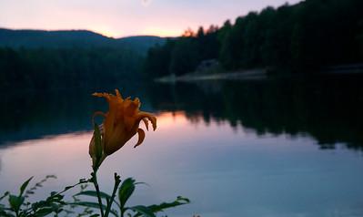 Sunsets at the Lake July 2013