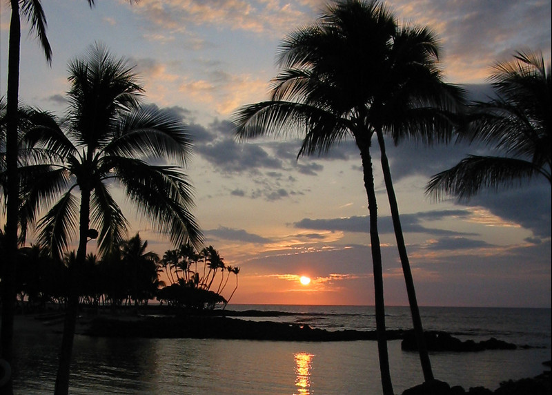 Big Island, Hawaii Sunset
