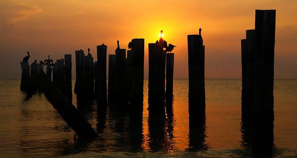 Sunset in Naples, Florida. Tamron 28-75mm f/2.8