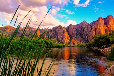 Salt River Sunset I