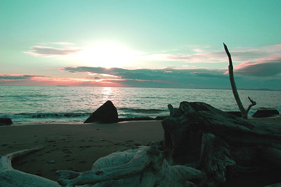 Whidbey Beach Sunset (3)