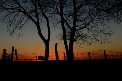Sunset - Marion, Kansas - 2011