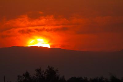 Sunset - Salton Sea, CA, USA