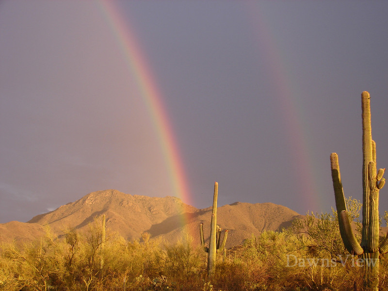 Double Rainbow, Tucson AZ 2010