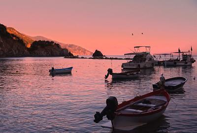Evening in Monterosso al Mare, Cinque Terre