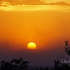 Sunset during dust storm in Jul7 20121 in Tucson AZ