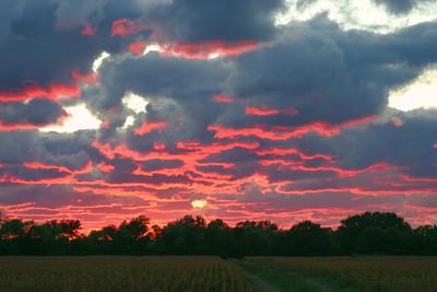 Sunset Over Royalton