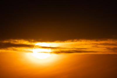 Sunset - Merced, CA, USA