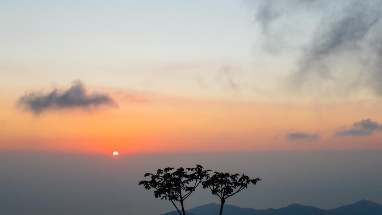 Sunset - El Dorado Lodge, Colombia