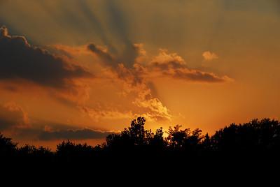 Sunset in Illinois
