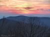 Sunset along Skyline Drive in Virginia