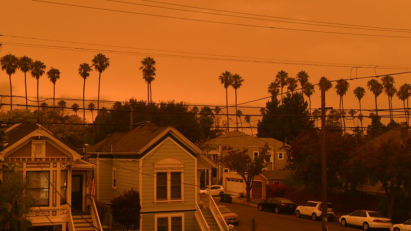 Smoky Alameda Sunset Timelapse