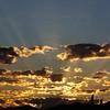 sunrise over the Tucson Desert, Sept 2011