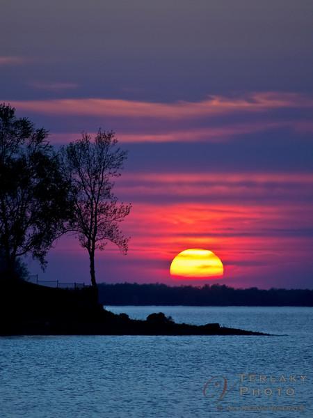 Sunset at Andrew Hayden Park, Ottawa