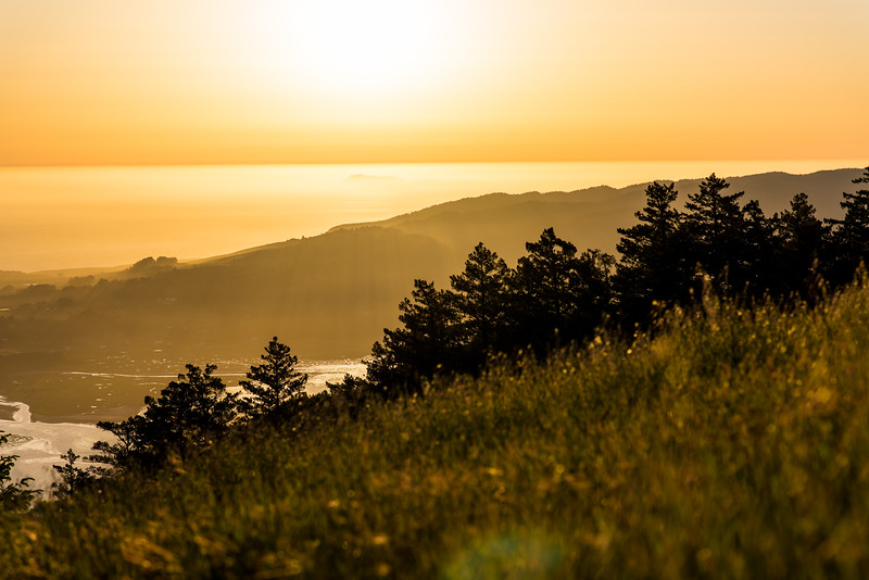 Sunset from Mount Tamalpais