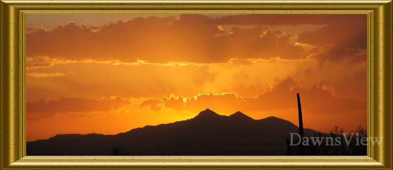 August 5, 2011 Sunset in Tucson, AZ