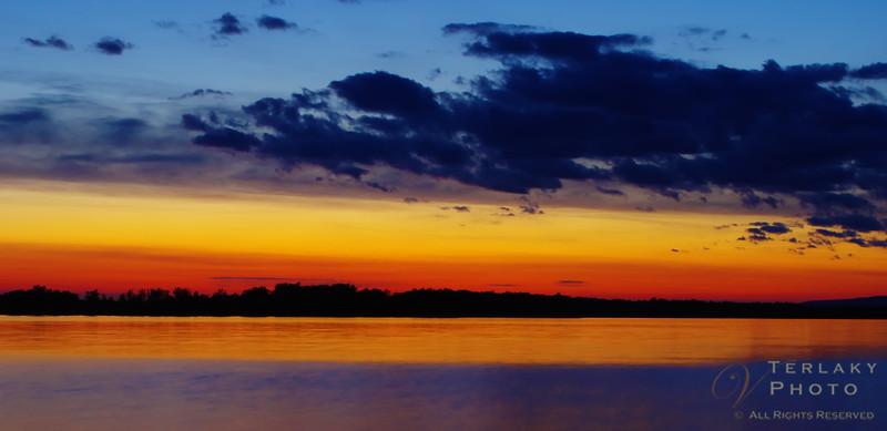 Sunset at Shirley's Bay.