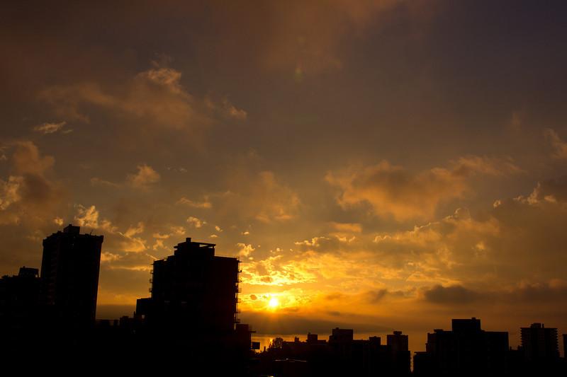From my balcony, October 14, 2010.