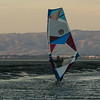 Late for windsurfing