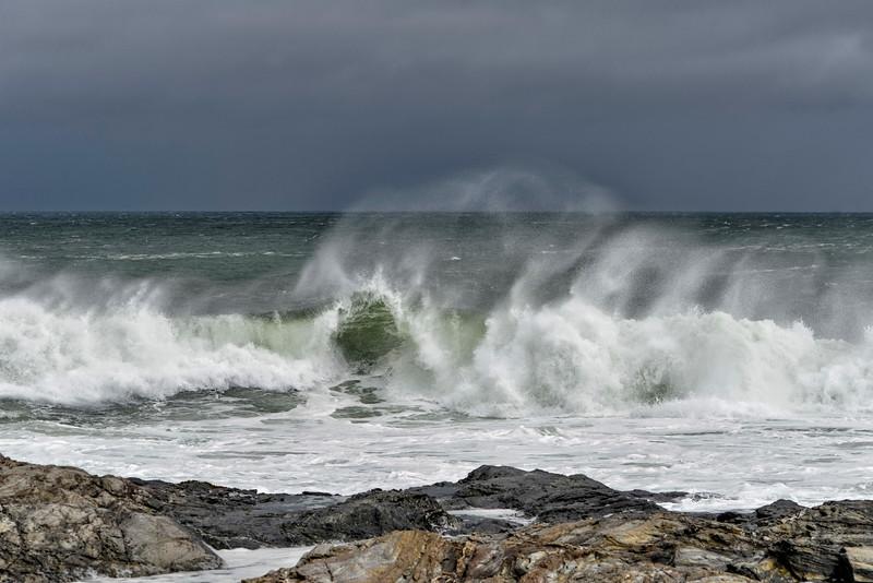 Surf at Beavertail