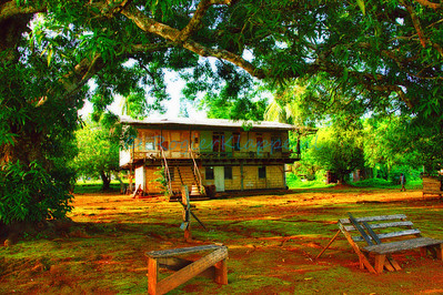 Old building Kabalebo Suriname-HDR