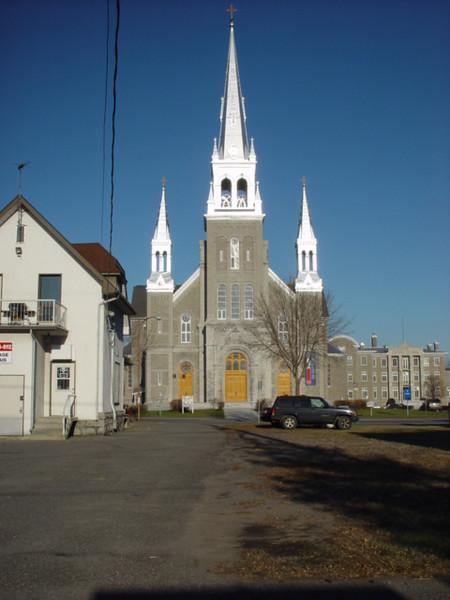 Joliette'cathedral  La cathedrale de Joliette