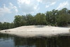 Spirit of the Suwannee sandy beach area
