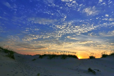 Sunset Beyond the Dune