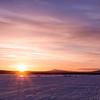 Torne River Sunset