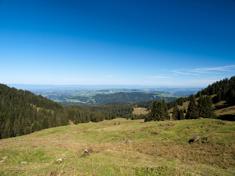 View from the Schalenberg area (Canton Bern) in direction Swiss Plateau / Mittelland and Jura Mountains<br /> <br /> Olympus E-420 & Zuiko 12-60/2.8-4.0