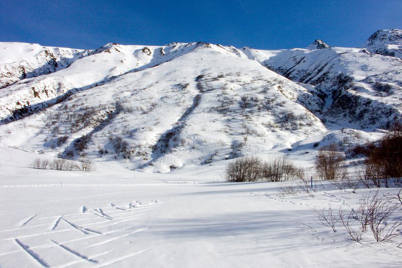 Urserental between Realp and Hospental - southern border<br /> Konica Minolta Dimage A2