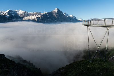 Bridge to the mountains