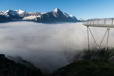 Bridge to the mountains