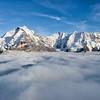 Jungfrau High Above the Clouds