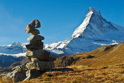 Matterhorn and Cairn