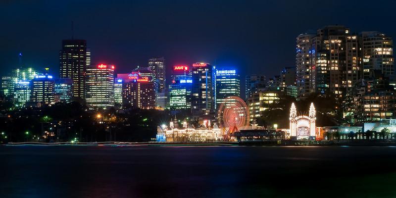 Sydney Harbour at Night DSC_8495
