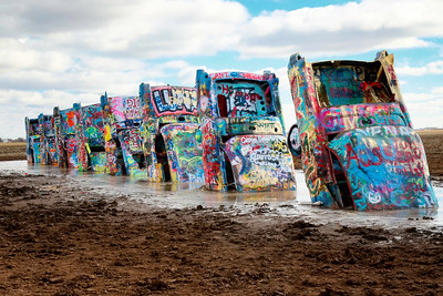 Cadillac Ranch in Amarillo, TX