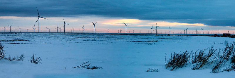 Wind Turbines Outside Amarillo