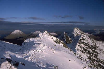 On Bruach na Frithe looking east