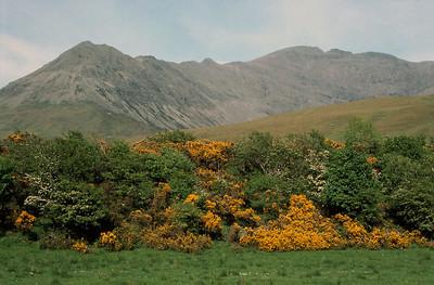 The ridge of Sgurr nan Gobhar leading to Sgurr na Banachdich from Glen Brittle