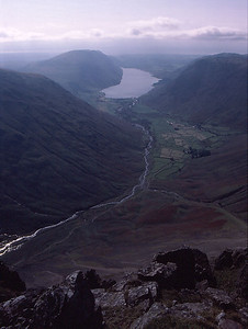 Wasdale, from Great Gable
