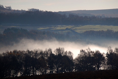 Looking south across the Longshaw Estate from near Surprise View