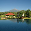 View to Mount Meru from African View Lodge