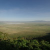 Panoramic view to Ngorongoro Crater