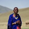 Sendato, headman of the Massai Village Ngorongoro