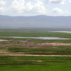 View into Ngorongoro crater
