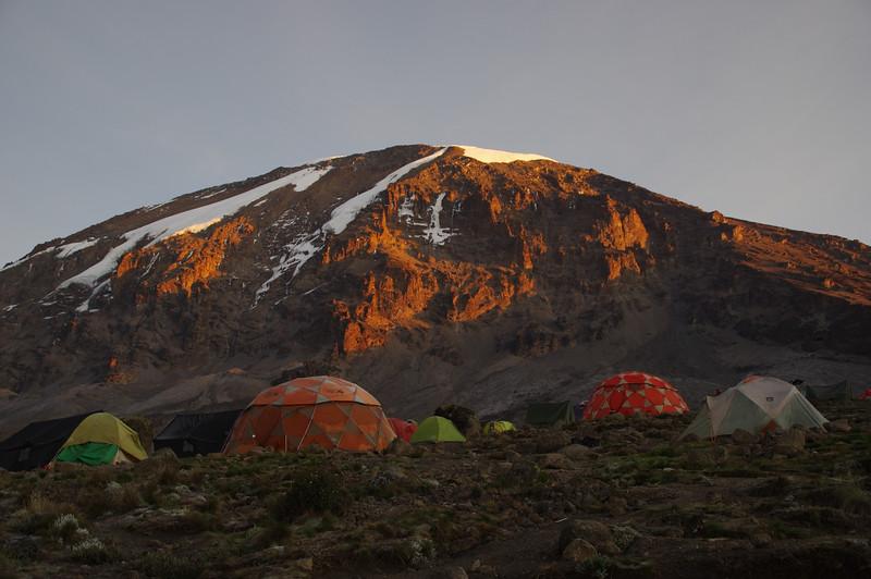 Karanga Camp at sunrise